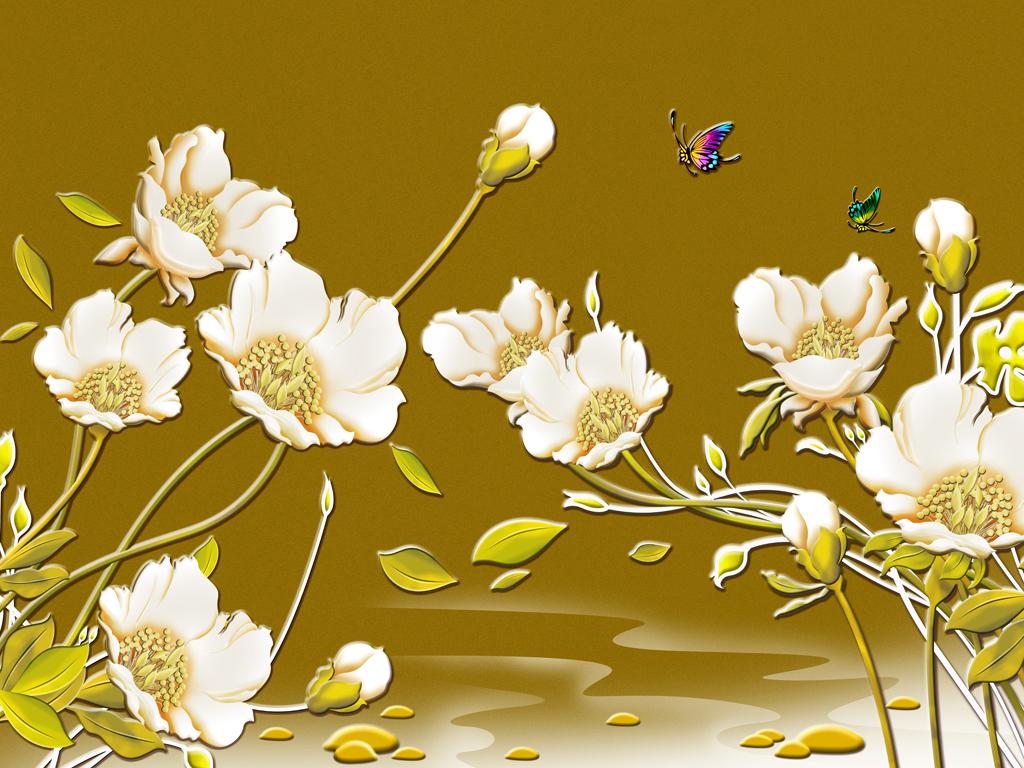 花类风景图图片